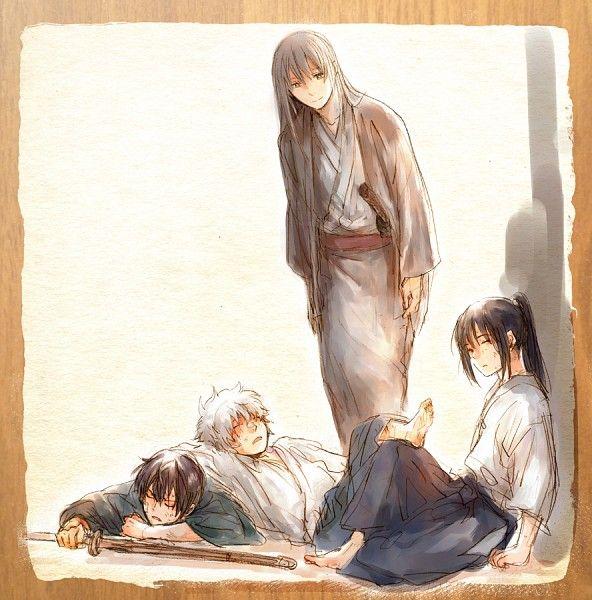Tags: Anime, Acaco, Gin Tama, Katsura Kotaro, Takasugi Shinsuke, Sakata Gintoki, Yoshida Shouyou