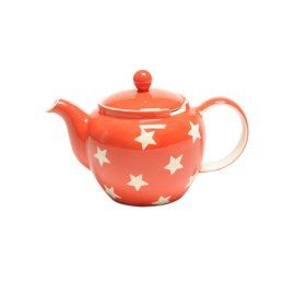 Tea Clipper Red Star 6- cup Chatsford Teapot Whittard of Chelsea