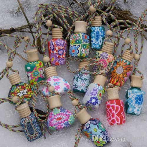 15 Ml Car Hang Decoration Ceramic Essence Oil Perfume Bottle Hang Rope Empty Bottle Perfume Bottle Wholesale Personalised Perfume Bottle From Santi, $0.81| Dhgate.Com