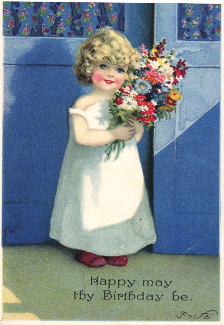 картины открытки с днем рождения ретро дореволюционные покупка была