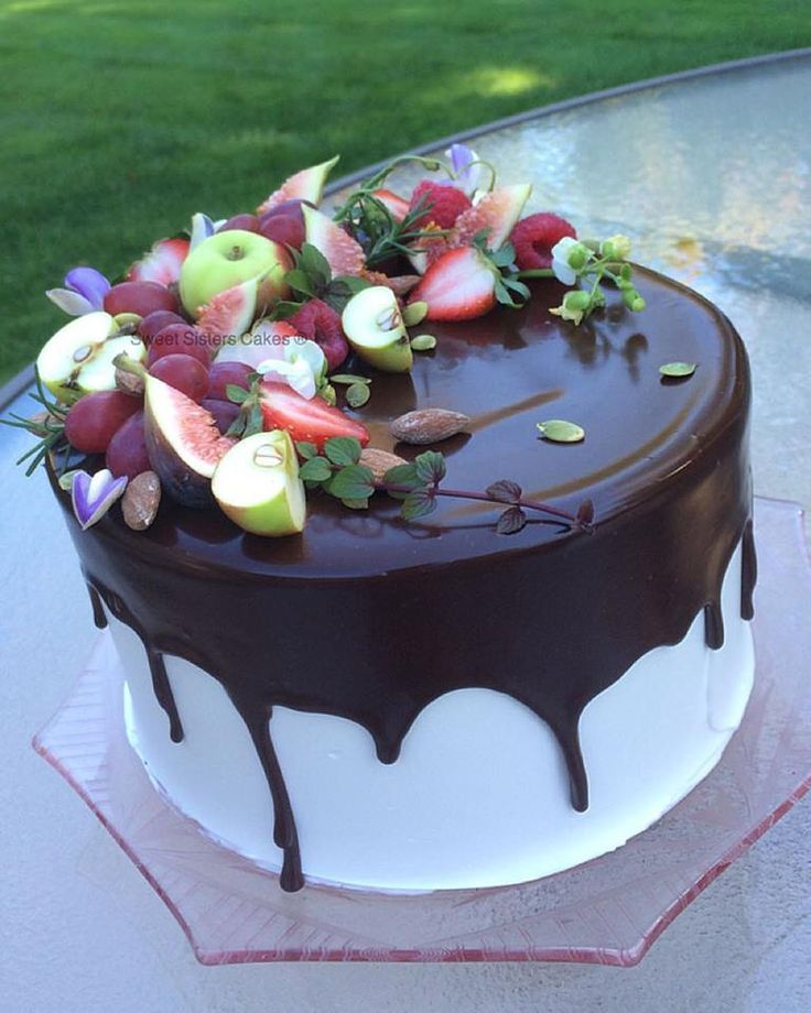 Delicious Ganache No Birthday Girl Can Resist. #desserts