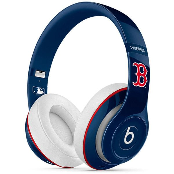 Boston Red Sox Beats Studio 2 Wireless Headphones (€320) ❤ liked on Polyvore featuring accessories and tech accessories