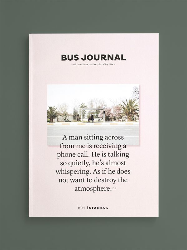 Bus Journal | design by Sarah Le Donne