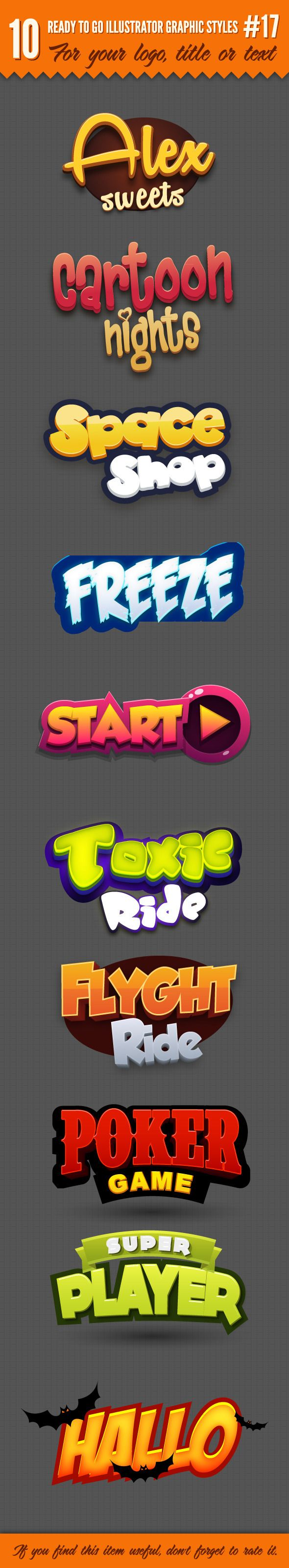 10 Logo Graphic Styl...