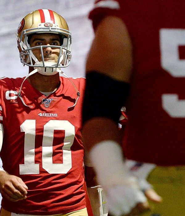 2017 Vs 2019 Comparing Jimmy Garoppolo S 5 0 Runs With The 49ers Nfl 49ers Levi Stadium