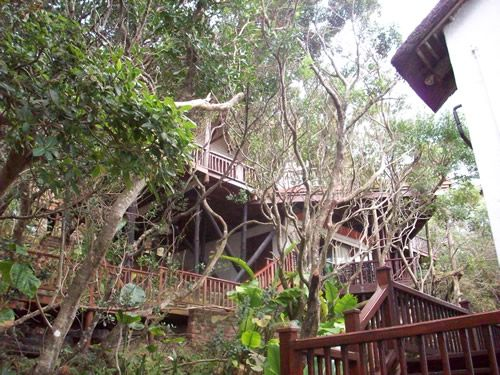 Woodpecker Cottage in Chintsa East, Wild Coast. 3 Storey self-catering holiday accommodation that sleeps up to 8.
