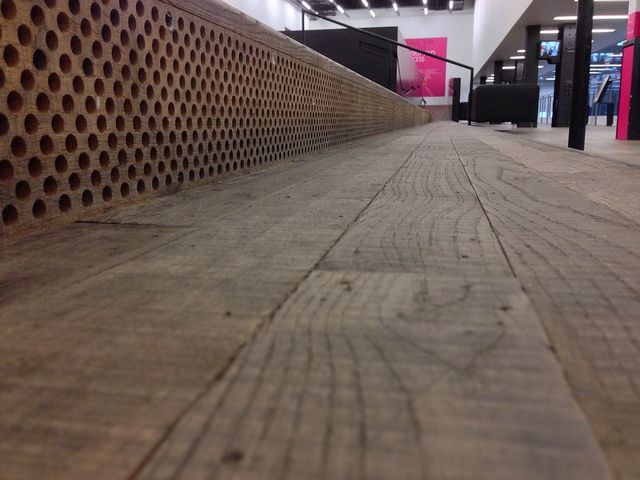 Take a different view. Steps at Tait Modern, London by FreakOutITGeek, via Flickr