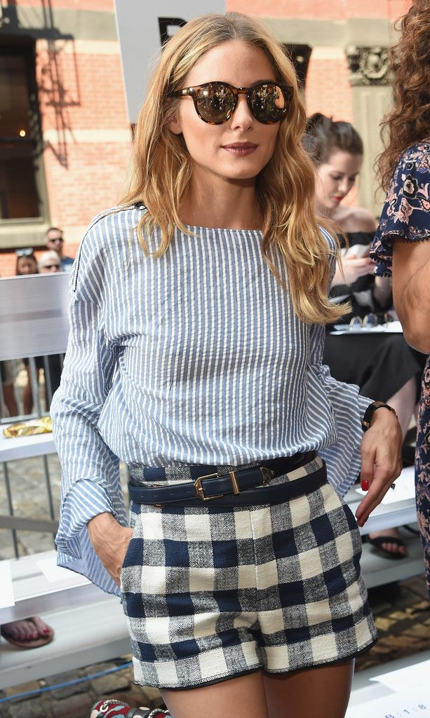 Olivia Palermo attends the Rebecca Minkoff SS17 fashion show on September 10, 2016 #nyfw#ss17 #frow