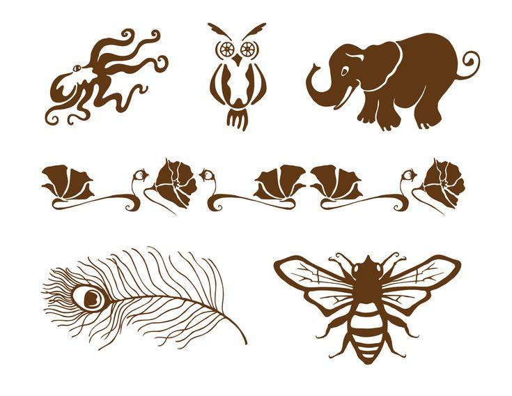 25 Best Ideas About Henna Animals On Pinterest  Logo On Line One Line Tatt