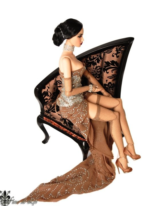 sitting pretty, Java Indonesian style barbie