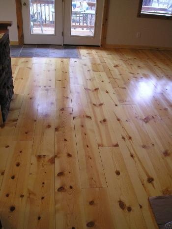 Character Pine Flooring Finished With Waterlox Original