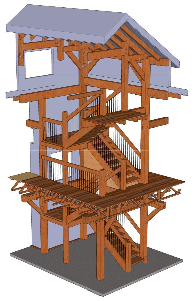 Types of Timber Frame Stair Systems - There are several popular variations in the basic construction of stairs. Some variations are best suited for a particular type of staircase, and there are certainly more variations that are less frequently used. - types-of-timber-frame-stair-systems - http://timberframehq.com/types-of-timber-frame-stair-systems/
