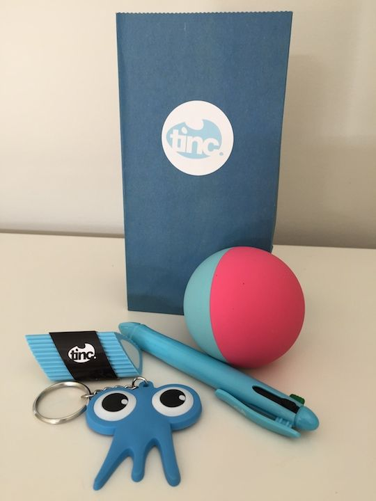 Kid's Handball party bag and quality stationery items to make parties easier. www.tinc.net.au