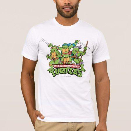 Teenage Mutant Ninja Turtles | Turtle Power T-Shirt - tap, personalize, buy right now!