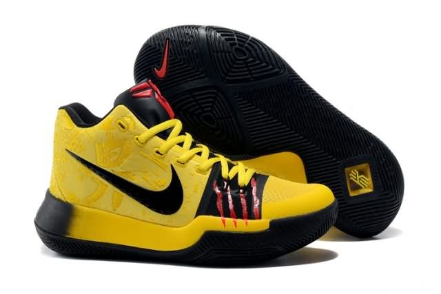aea112ab70b95 Cheap Kyrie Irving 3 Bruce Lee shoes #yellow Only Price $65 To Worldwide  and Free Shipping