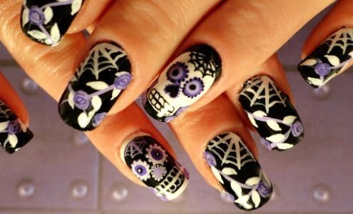 Don't have a Halloween costume? Get into the spirit with these holiday-inspired manicure ideas!