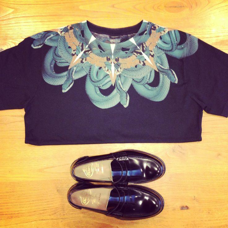 t-shirt MARCELO BURLON shoes CHURCH'S