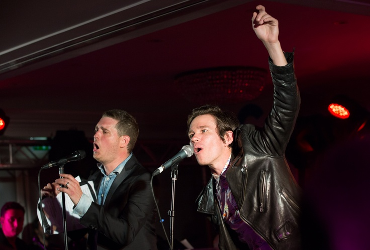 Michael Bublé And Nate Ruess: For Fun, Fun Fun, Photo, Fun With