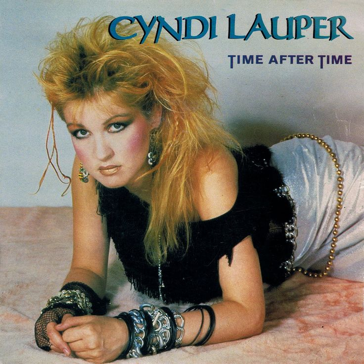 Cyndi Lauper --- A singer whose popularity began in the mid-80s. She looks different, sounds different, and IS different. She's still around --- she released her last body of work in 2009. To listen to one of her 'signature' songs, 'She Bop', click her photo. This song was released in 1984.