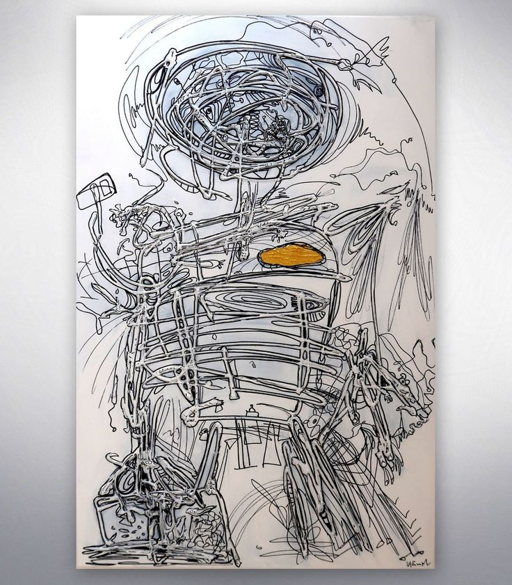 """Gemälde """"Chip Man 2"""""""