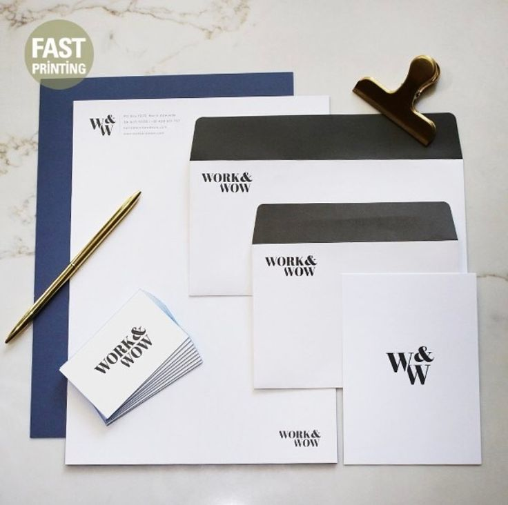 Simple Yet Sophistcated Staionery #printing #graphic #stationery #design #packaging #australia #usa #uk #fastprinting #FP