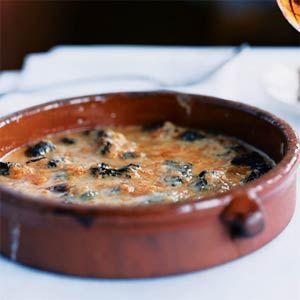 Morel Mushroom and Oloroso Sherry Gratin | MyRecipes.com