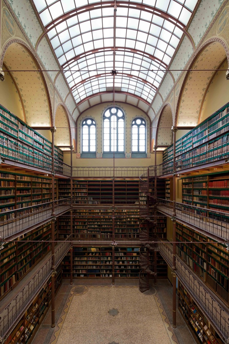 Cuypers Library. Photo: Iwan Baan.