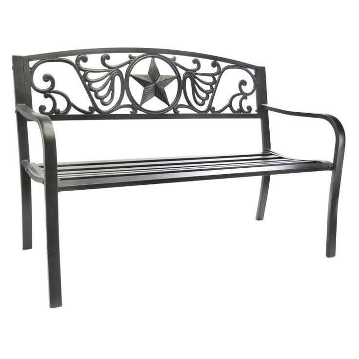 1000 Ideas About Metal Garden Benches On Pinterest