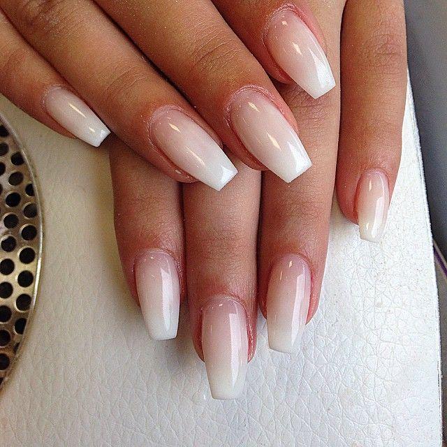 Bild Ergebnisse für ombre ballerina nails – #ballerina # Bild Ergebnis # für #nails #ombre – …   – Ombre Nails Beige