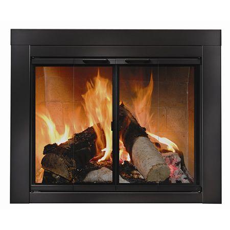 Best Fireplace Glass Doors Ideas On Pinterest Glass Doors