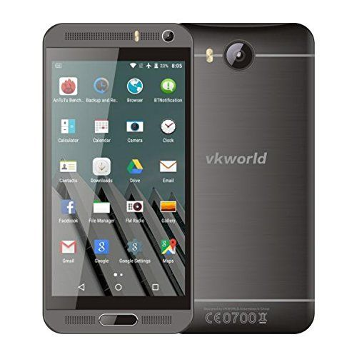 POTO Vkworld Vk800x Android 5.1 Mtk6580 5.0 Inch Unlocked Smartphone RAM 1GB+ROM 8GB Quad Core 1.3GHz 8 Mp Dual Sim Wcdma & Gsm Cellphone (Black) - http://www.computerlaptoprepairsyork.co.uk/mobile-phones/poto-vkworld-vk800x-android-5-1-mtk6580-5-0-inch-unlocked-smartphone-ram-1gbrom-8gb-quad-core-1-3ghz-8-mp-dual-sim-wcdma-gsm-cellphone-black