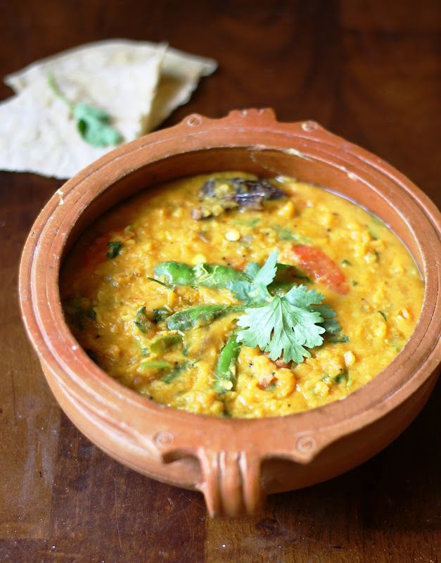 Daal Curry - North Indian Style Curried Lentils Recipe