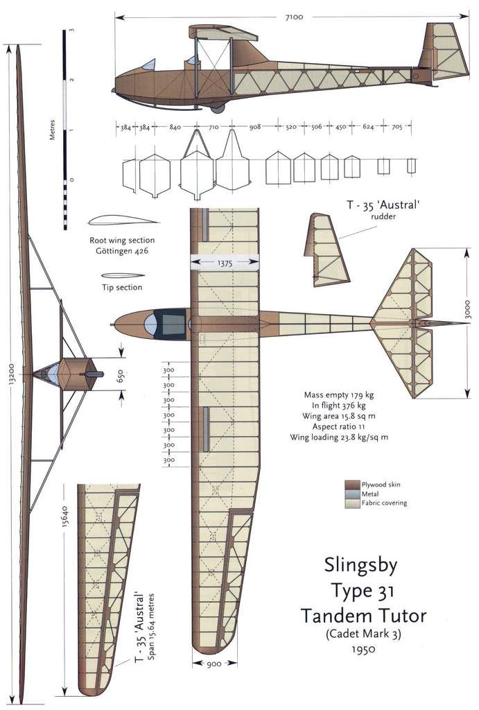 Attachment browser: 3 vues slingsby t 31.jpg by No Step - RC Groups