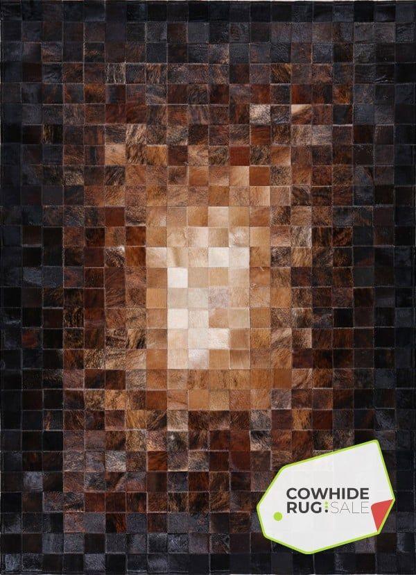 Transition Mosaic Rug Cowhide Rugs Cowhide Rug Sale Mosaic Rugs Patchwork Cowhide Rug Cow Hide Rug