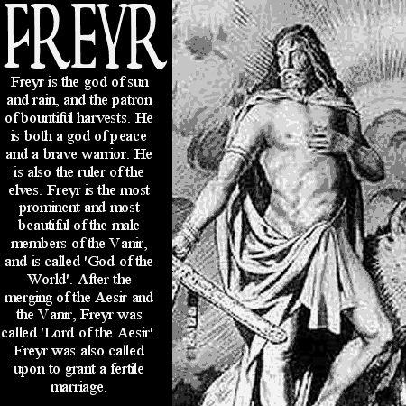 Image detail for -Freyr Norse Mythology
