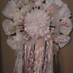 Hospital Diaper Wreath ~ Mum plus Diapers, lots of bells and tinkets!  Starting price Wreaths   $30.00