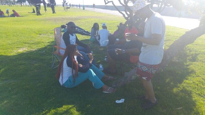 Chilling with fam in capetown