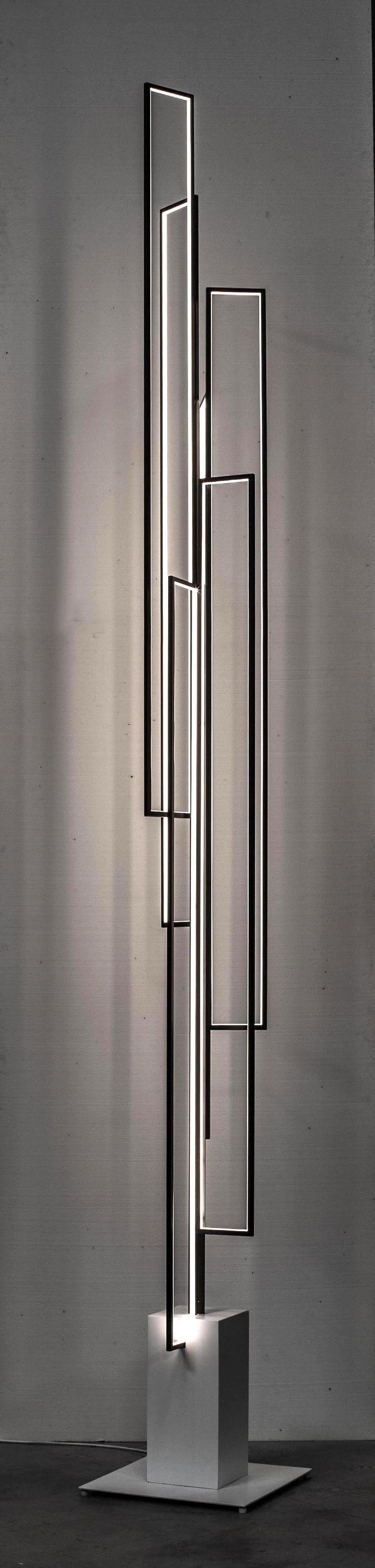 Contemporary LED Mire Vertigo Lighting By Michel Cinier Cinier Collection  Contemporary Radiators, Towel Warmers And