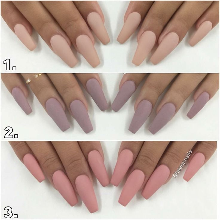 Gorgeous Nude Nail Colors For Tan Olive Skin Tones