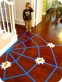Toddler Approved!: Sight Word Spider Web
