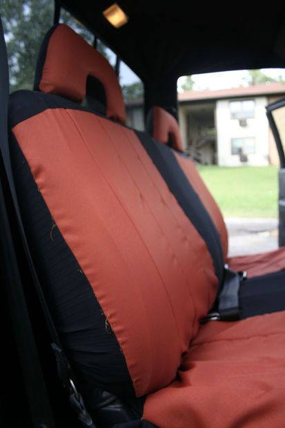 DIY Seat Covers for a Bench Seat (try in white truck?)