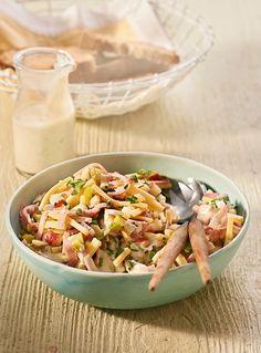 Käse-Schinken-Salat