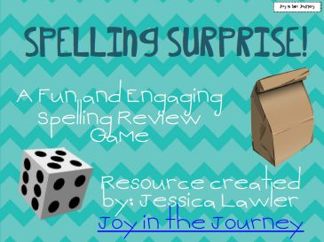 Fifth in the Middle: Spelling Surprise!
