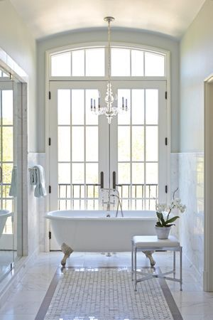 Cheshire in a bright and airy bathroom