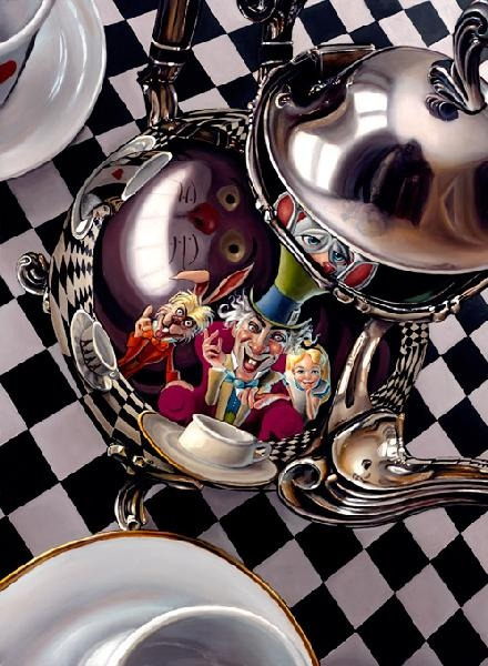"Mad Hatter's Tea Party"" by Christian Waggoner"