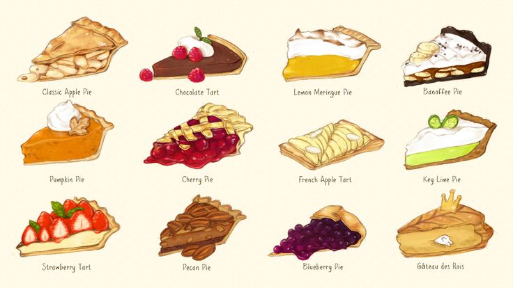 Pie ~ variety