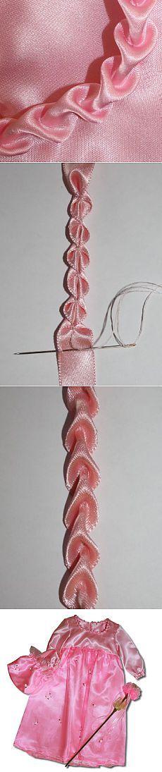Для вдохновения, цитатник: Интересный способ украшения одежды