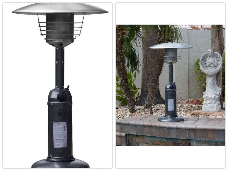 #Outdoor #Patio #Heaters #Portable #Stainless #Steel #Tabletop #Patio Heater 38-Inch