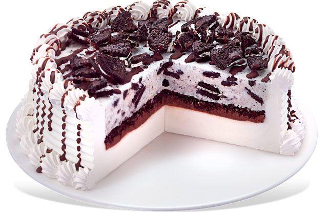 Tarta de helado de chocolate mousse y corteza de nuez