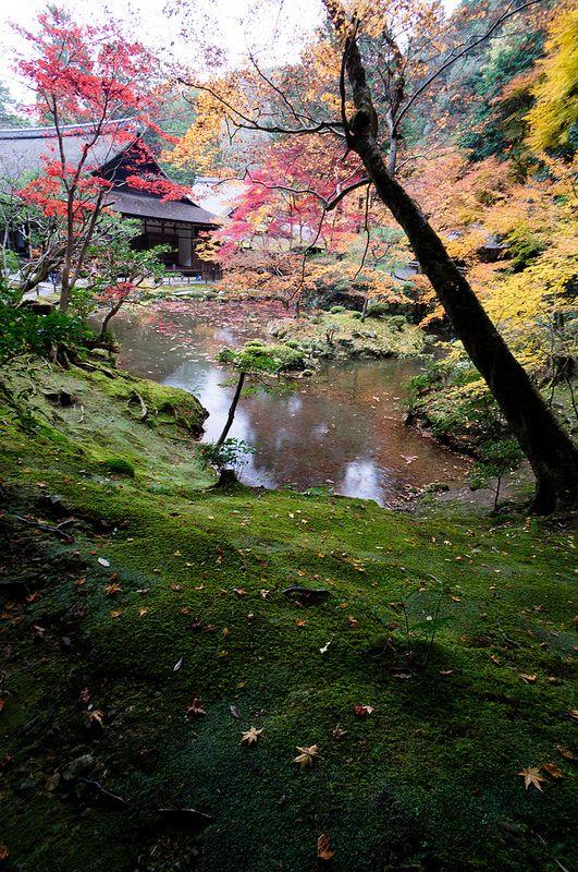 """南禅寺方丈庭園(""""Nanzen-ji Temple"""" Garden) in Kyoto"""